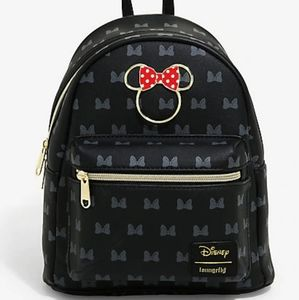Loungefly Disney Minnie Mouse Icon Mini Backpack